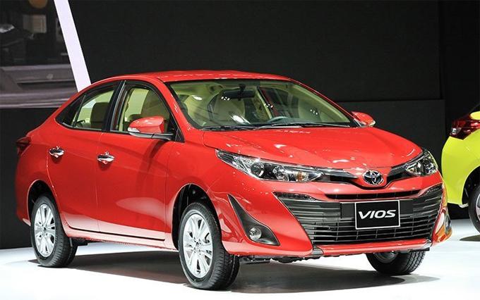 Toyota Vios giảm giá hơn 40 triệu đồng