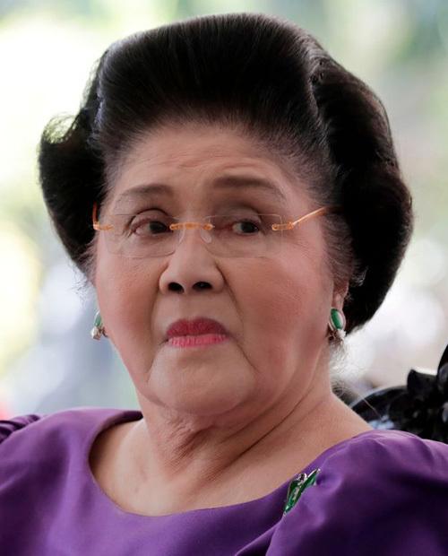Cựu đệ nhất phu nhân Philippines Imelda Marcos. Ảnh: EPA.