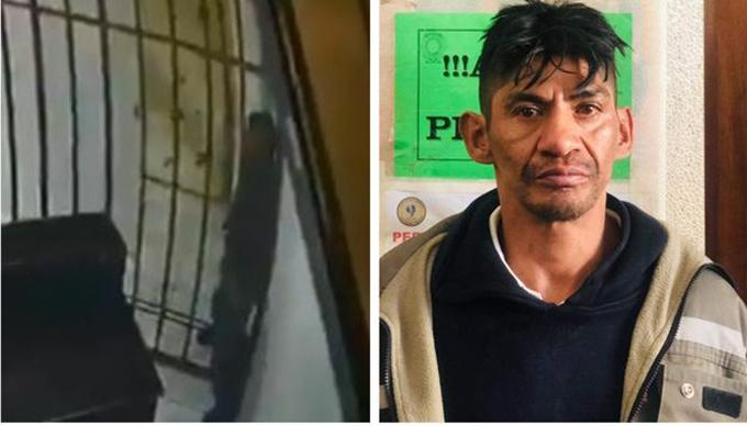 Tên trộm Coco ở Bolivia vượt ngục bằng cách lách qua song sắt hôm 29/6. Ảnh: ATB.