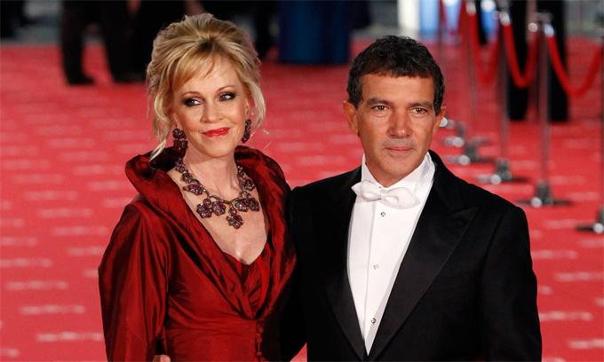 Melanie và Antonio Banderas thời còn chung sống. Họ từng gắn bó 19 năm bên nhau nhưng không có con chung.