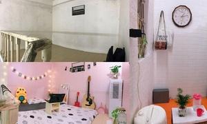 9X biến phòng trọ ẩm mốc thành không gian sống phong cách Hàn