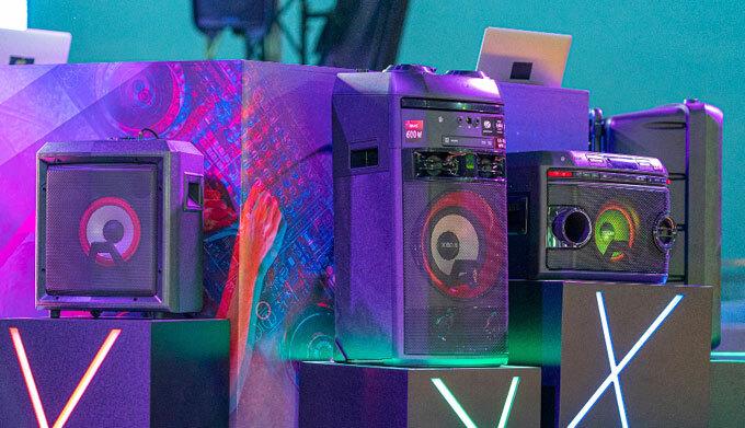 LG ra mắt dòng loa Xboom giá từ 4 triệu đồng