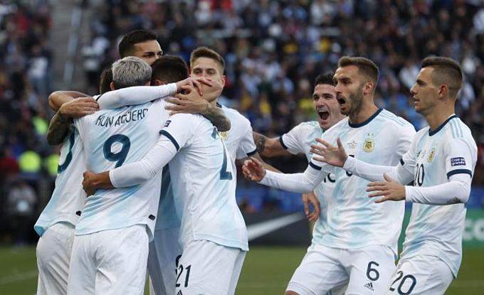 Messi rời sân khi Argentina đang dẫn 2-0, nhờ các pha lập công của Sergio Aguero và Paulo Dybala. Đến phút 59 Vidal rút ngắn tỷ số xuống 1-2 cho Chile nhưng Argentina vẫn là đội chiến thắng sau cùng, giành vị trí thứ ba tại giải.