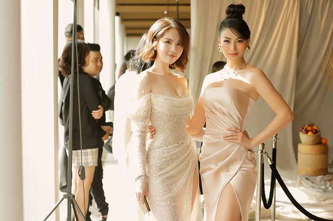 Ngọc Trinh và hoa hậu Phương Khánh.