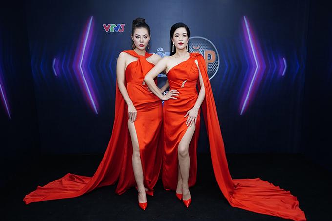 Thanh Hương và Thu Phương tại bán kết Trời sinh một cặp.