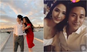 Hoàng Thùy chúc mừng sinh nhật Rocker Nguyễn giữa nghi vấn hẹn hò