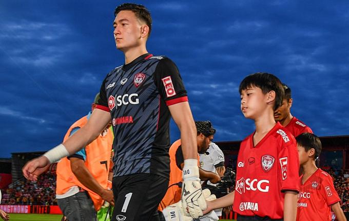 Đặng Văn Lâm ra sân tối 7/7. Ảnh: MTU FC.