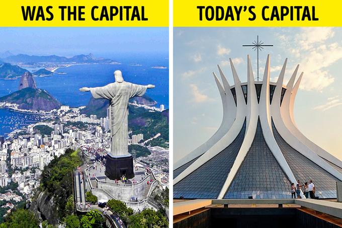 Rio de Janeiro là thủ đô của BrazilRio de Janeiro là thủ đô trong gần 200 năm của quốc gia Nam Mỹ này. Nhưng vào năm 1960, thủ đô đã được chuyển đến Brasília, một thành phố nhân tạo được thành lập mới hoàn toàn. Rio de Janeiro cũng không phải làthành phố lớn nhất vì còn thua xaSao Paulo.