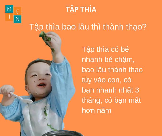 Mẹ 9X giải đáp 9 câu hỏi thường gặp về cách tập cho bé dùng thìa - 6