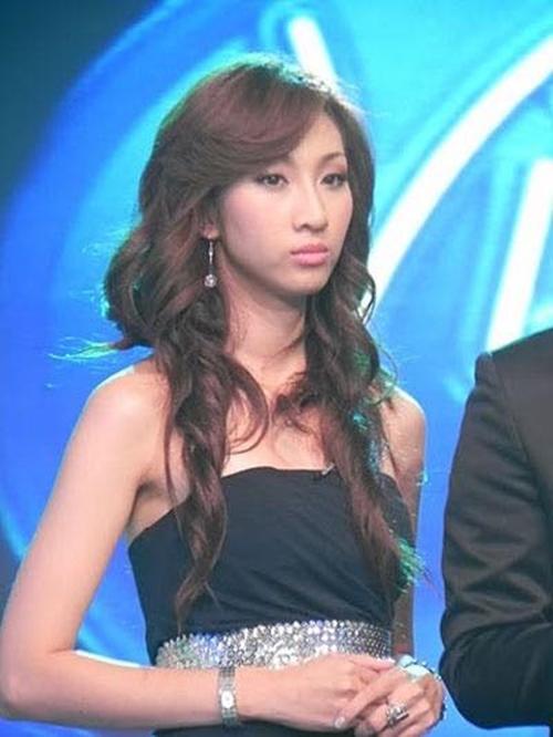 Lều Phương Anh khi tham gia Vietnam Idol 2010.