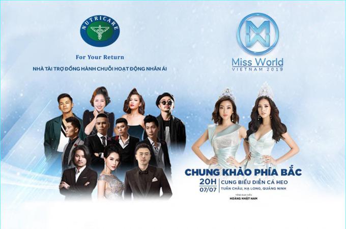 Các nhà tài trợ đồng hành cùng hoạt động nhân ái  Hoa hậu Thế giới Việt Nam 2019.