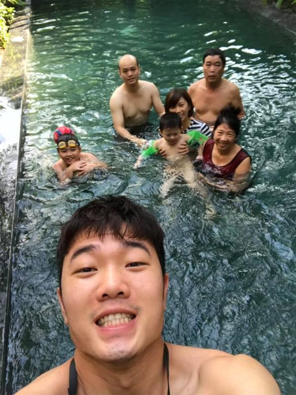 Chuyến đi nghỉ của đại gia đình Xuân Trường.