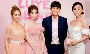 Ngọc Trinh hội ngộ Huyền Lizzie, 'Quỳnh búp bê' ở Hà Nội
