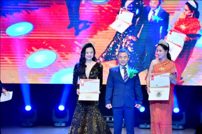 Hoa hậu Oanh Yến đăng quang Nữ hoàng Queen of Beauty World 2019 tại Hàn Quốc - xin edit - 13