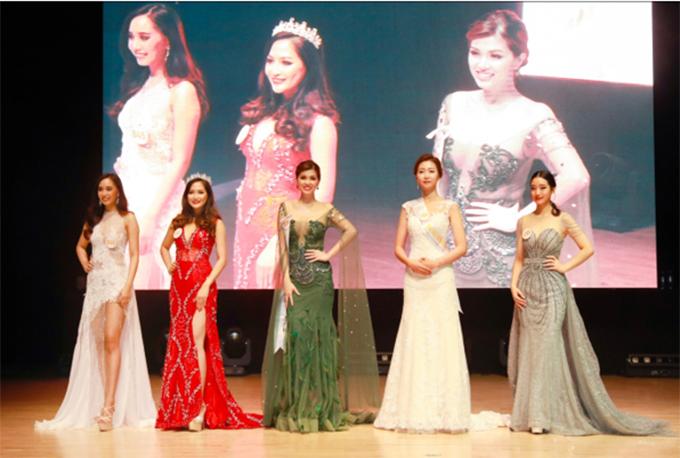 Á hoàng 3 là Tharath Man - Campuchia (SBD: 167) và Jeong Ji Won - Hàn Quốc (SBD: 104). Các giải thưởng phụ cũng được trao cho những thí sinh xuất sắc trong chung kết.