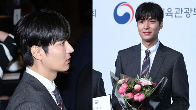 Chiếc mũi cao lạ mắt của Lee Min Ho gây nhiều chú ý. Nam diễn viên từng nhiều lần bị nghi ngờ dao kéo để khuôn mặt đẹp trai hơn.