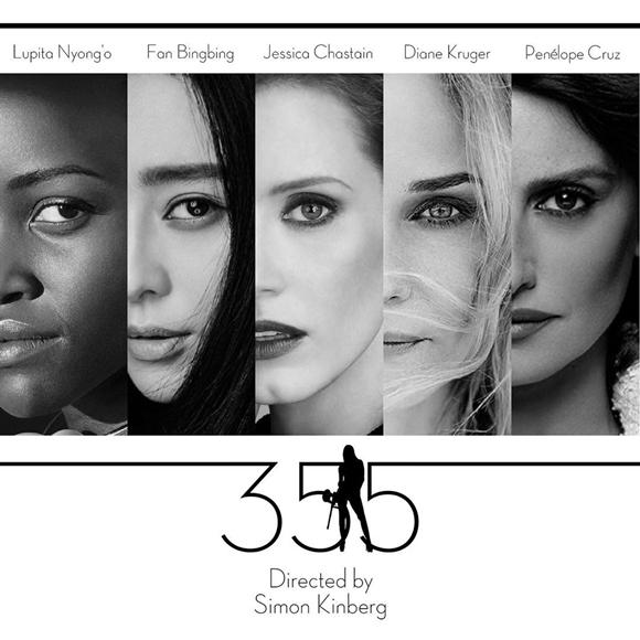 Hình ảnh quảng cáo của phim 355.