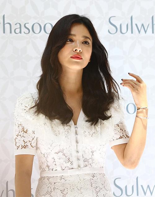 Song Hye Kyo dự sự kiện hôm 5/7 vừa rồi.