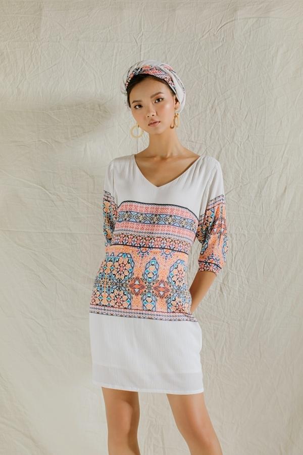 Nhà thiết kế An Nhiên vừa ra mắt bộ sưu tập thời trang Lãng du mang phong cách du mục.