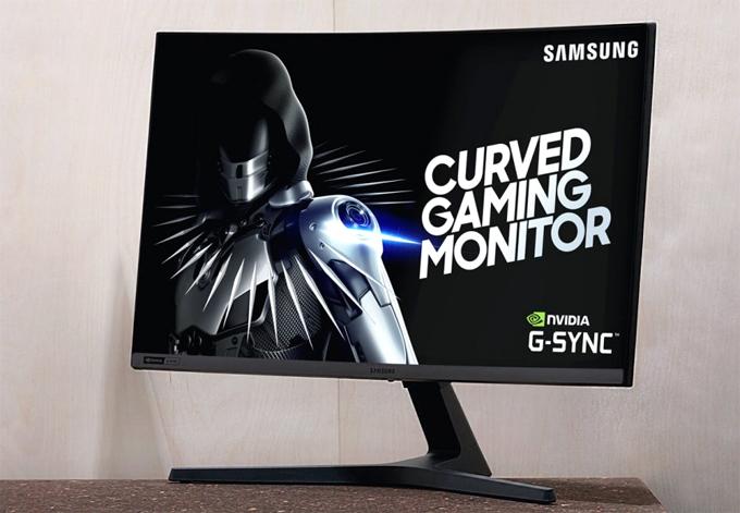 Màn hình cong chơi game của Samsung giá gần 11 triệu đồng