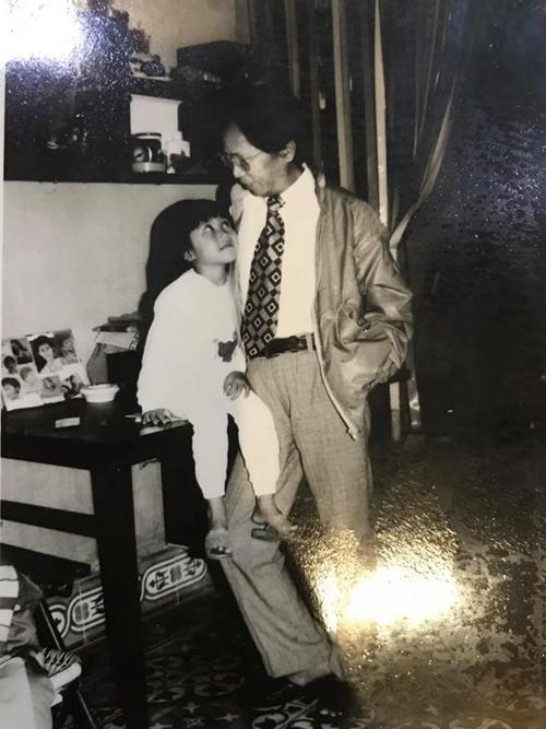 Diễn viên Ốc Thanh Vân khoe ảnh thời thơ ấu - 2