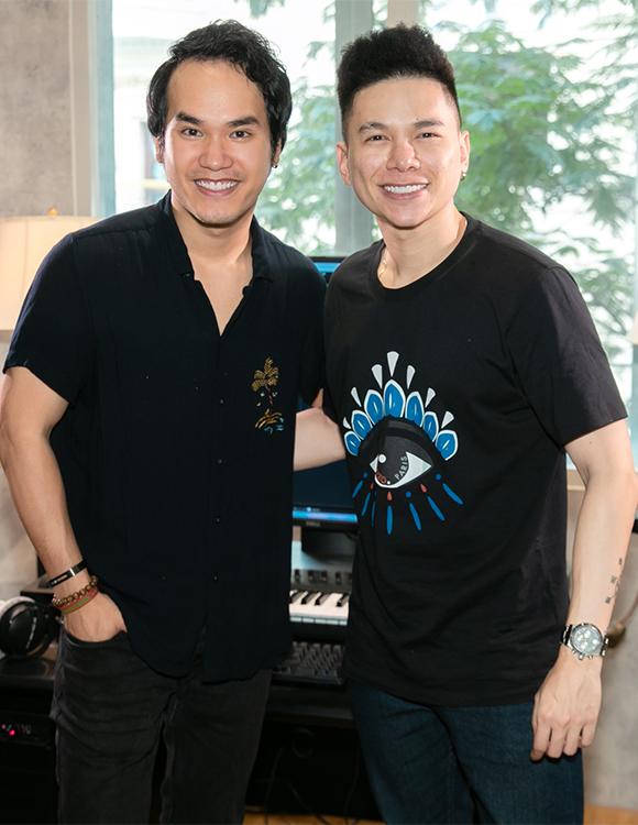 Ca sĩ Hoàng Tôn từng hợp tác với Khắc Hưng từ khi nhạc sĩ sinh năm 1992 chưa thực sự nổi tiếng.