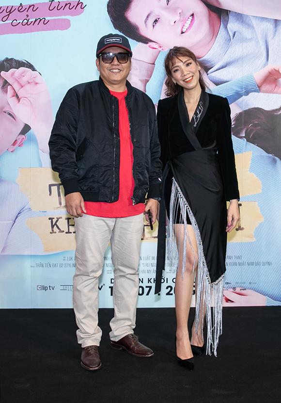 Đạo diễn Đức Thịnh đến ủng hộ phim thứ hai của nữ đạo diễn trẻ Luk Vân.