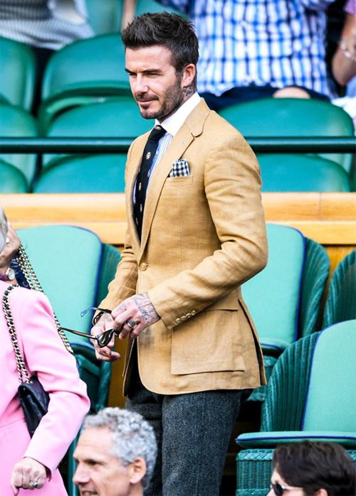 Becks là khách quen mỗi mùa Wimbledon