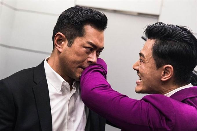 Lâm Phong và Cổ Thiên Lạc có nhiều cảnh diễn chung nhất trong phim, chủ yếu là các cảnh xung đột, đánh nhau và một cảnh đấu súng.