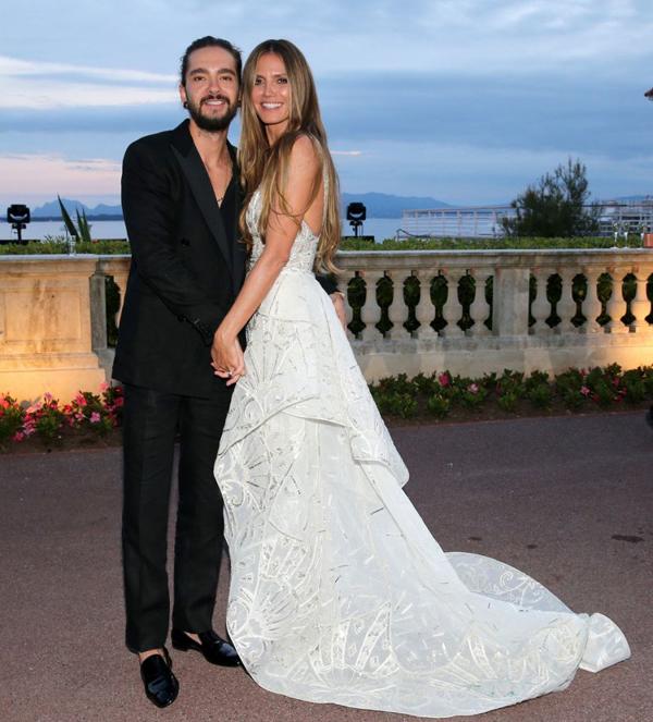 Heidi Klum và chồng trẻ Tom Kaulitz.
