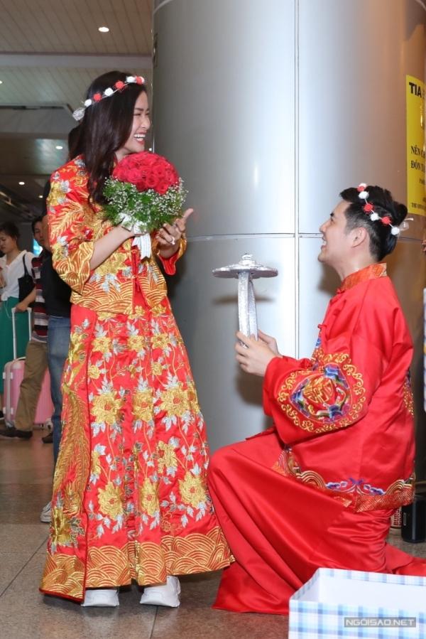 Đông Nhi - Ông Cao Thắng tổ chức đám cưới ở sân bay - 5