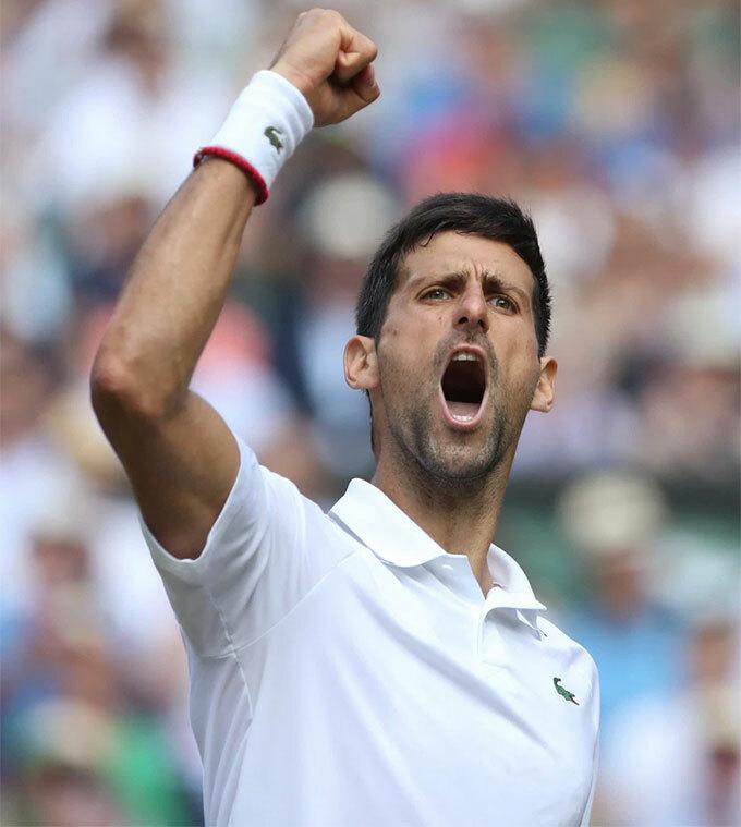 Đối thủ của Federer trong trận chung kết cũng là một đối thủ quen thuộc - Novak Djokovic. Tay vợt số một thế giới cũng vượt qua đối thủ Bautista Agut cũng với tỷ số 3-1.