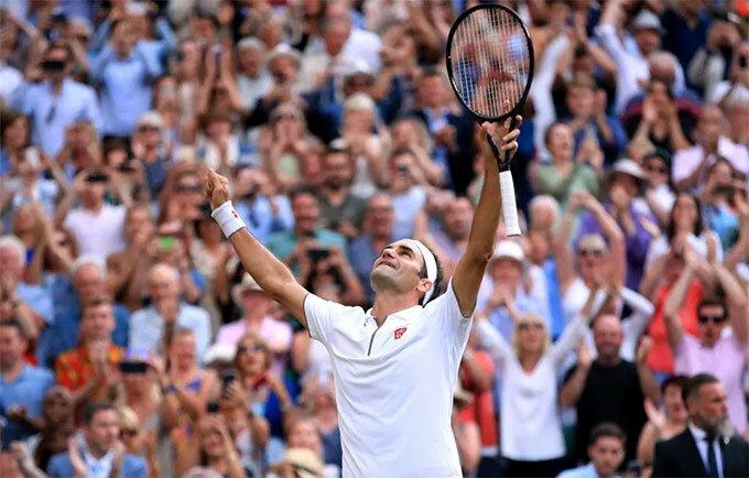 Cuộc so tài được trông đợi giữa hai tay vợt kỳ cựu kết thúc với phần thắng 3-1 nghiêng về Federer.
