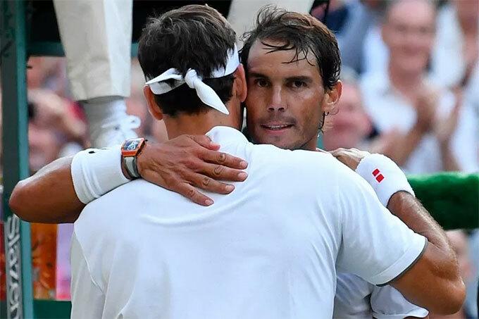 Trận đấu tái hiện chung kết giải Pháp mở rộng hai tháng trước đó khi Nadal giành chiến thắng. Tuy nhiên trên mặt sân cỏ lần này, Tàu tốc hành phục phù đánh bại đối thủ.