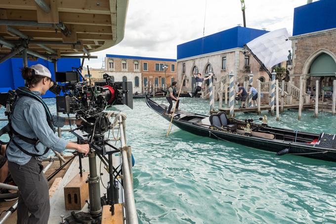 Thành phố trên sông của nước Ý được phục dựng hoàn toàn tại một phim trường ở London.