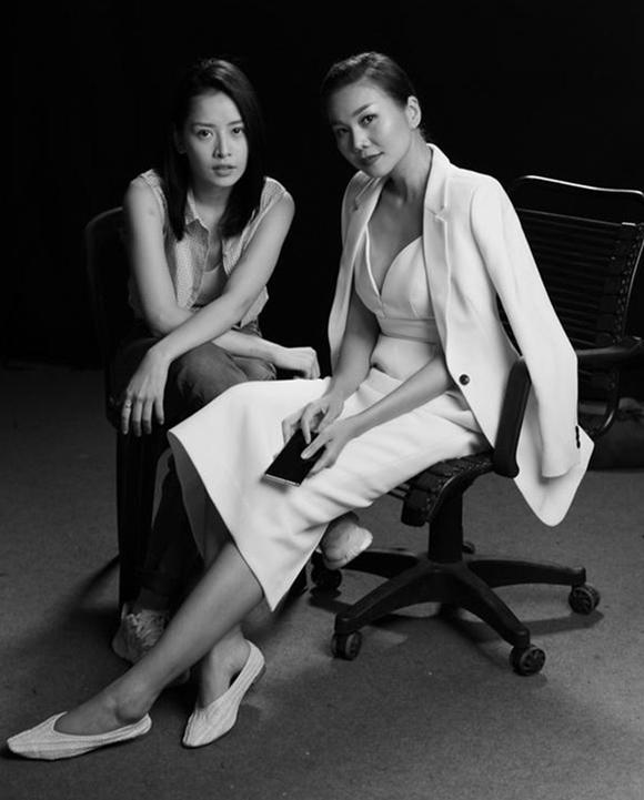 Thanh Hằng - Chi Pu lần đầu đóng chung phim.
