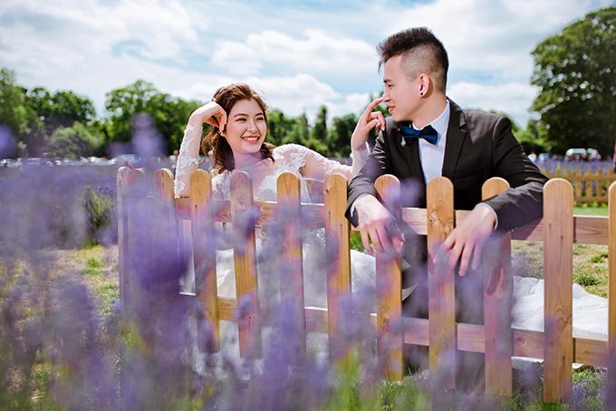 Bộ ảnh được thực hiện bởi ảnh: Kellis Wedding Europe, trang điểm: Quyên Phùng.