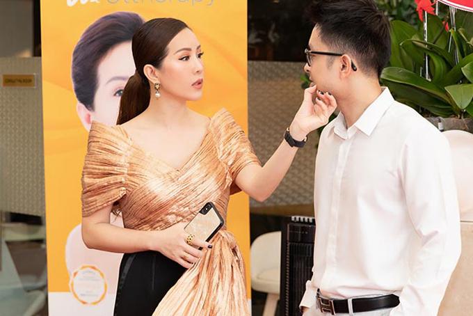 Cặp đôi hẹn hò vài năm nay, tình cảm rất mặn nồng nhưng Thu Hoài chưa tiết lộ về kế hoạch tái hôn.