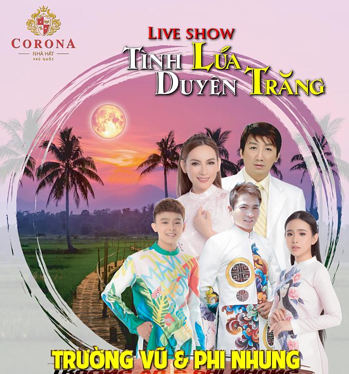 Trường Vũ và Phi Nhung sẽ mang đến cho khán giả những bản nhạc trữ tình ngọt ngào, sâu lắng.