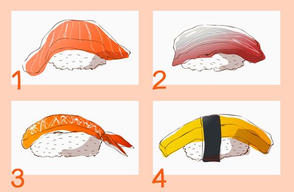 Món sushi yêu thích và chuyện tình cảm của bạn