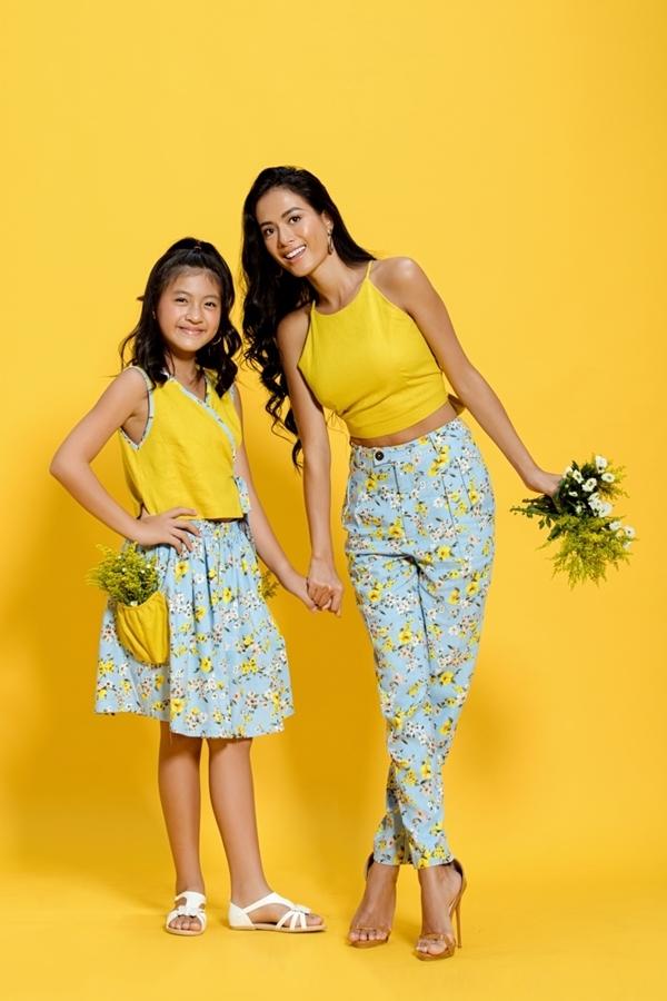 Con gái lớn của Như Vân tên Gia Bảo (10 tuổi). Cô bé sở hữu ngoại hình cao ráo và làn da ngăm khỏe khoắn giống mẹ.