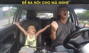 'Để ba nói cho mà nghe' phiên bản hai bố con khiến nghìn người xúc động