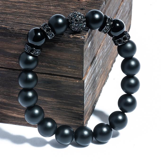 Vòng BRBO08M03 đá Obsidian 8 ly phối charm bạc đen giá gốc 889.000 đồng giảm còn 294.000 đồng trên Shop VnExpress. Khi mua các mặt hàng vòng tay trên Shop VnExpress trong hôm nay (17/7), người tiêu dùng nhập thêm mã HERUCRO hoặc mã TRANGSUCT7 để được giảm thêm.