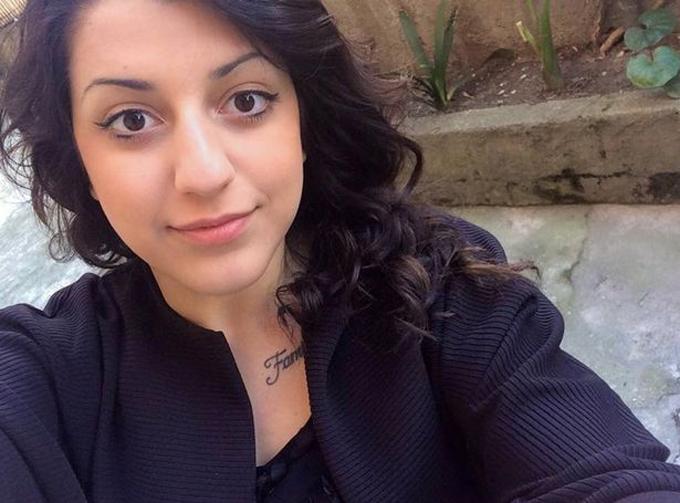Chân dung Maria, cô gái 21 tuổi người Italy tử vong vì nâng mũi hồi giữa tháng 6. Ảnh: FB.