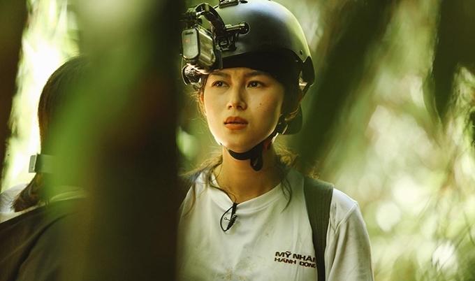 Ngọc Thanh Tâm là một trong sáu người đẹp showbiz tham giaMỹ nhân hành độngmùa đầu tiên.