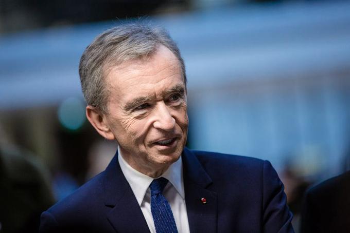 Tỷ phú Pháp Bernard Arnault. Ảnh: Bloomberg.