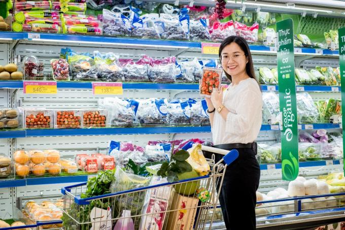 Co.op Organic - gian hàng thực phẩm hữu cơ an toàn, chất lượng cao tại Co.opmart.