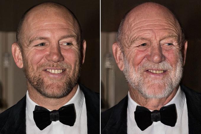 Mike Tindall, chồng của Zara Tindall, biến thành ông già hom hem, nhăn nhúm khi qua tuổi 70.