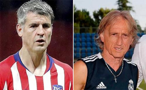 Morata và Modric