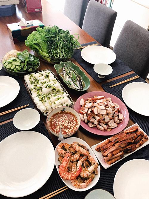 Những bữa ăn nấu bằng niềm vui trọn vẹn của Yumi Dương - 8